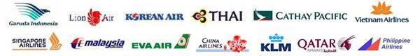 取り扱い航空会社